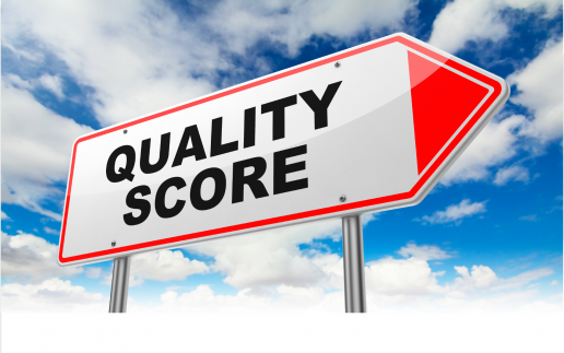 Google AdWords Quality Scores Blow Header