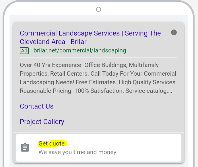 lead for extension google