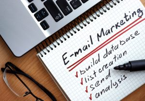Building An Email Newsletter For A Commercial Contracting Business Process On Notepad